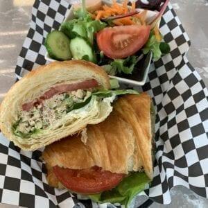 Tuna Sandwich on Croissant