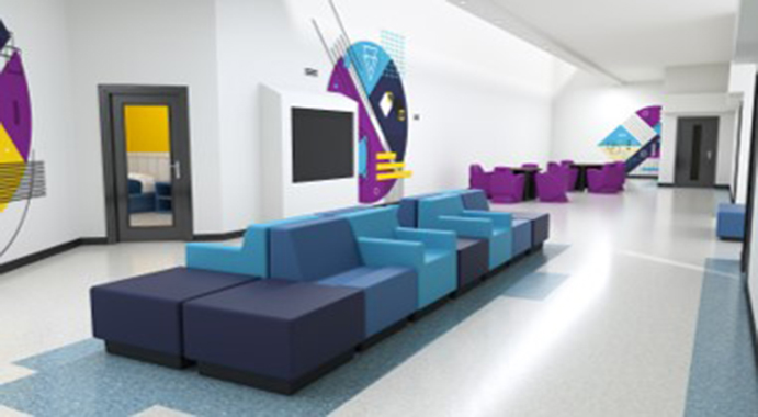 ModuForm Molded Lounge Seating