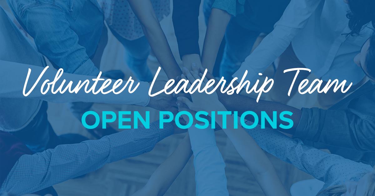 Open Volunteer Positions – May 2021
