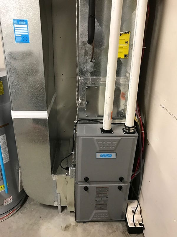 We install high efficiency furnaces. We also maintain and repair them