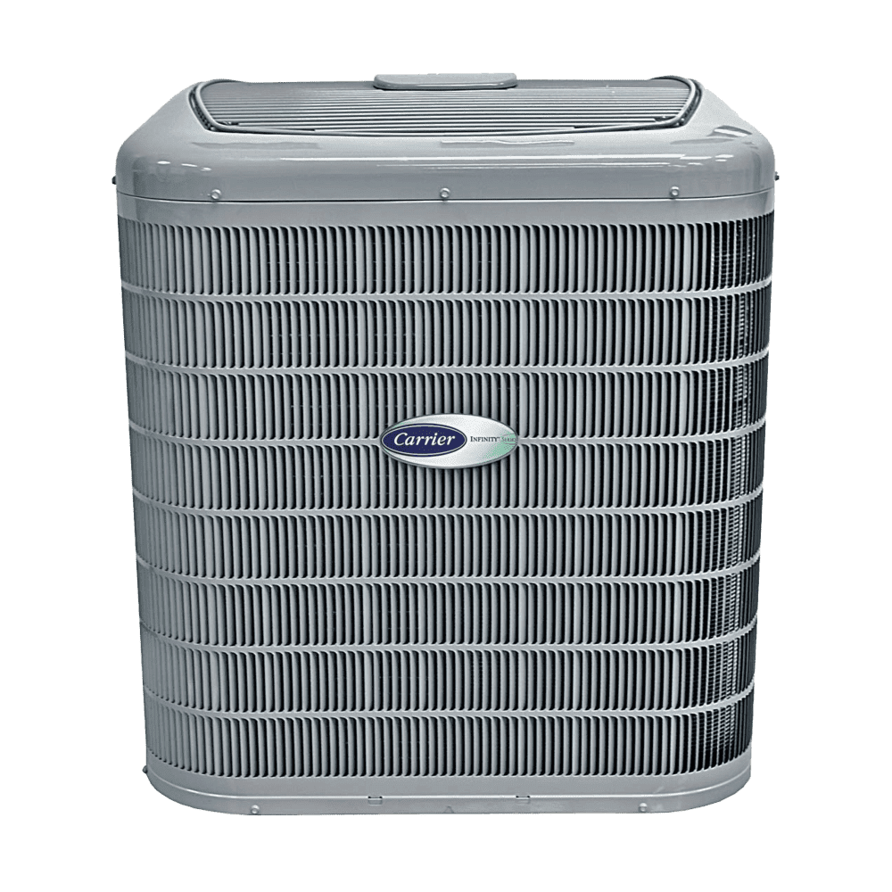 Carrier Brand A/C Units at Regina's BEST Plumbing and Heating company. We are also HVAC experts