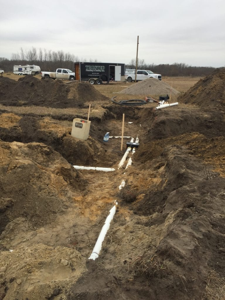 Rural Waste Management done right by Trusted Plumbing and Heating