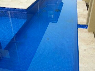 Finished Pool Tiles gallery