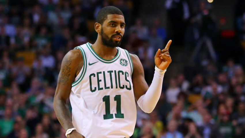 KYRIE IRVING IMPACTS MORE THAN BOSTON CELTICS, UNCLE DREW ALSO MENTORS HARVARD'S BRYCE AIKEN