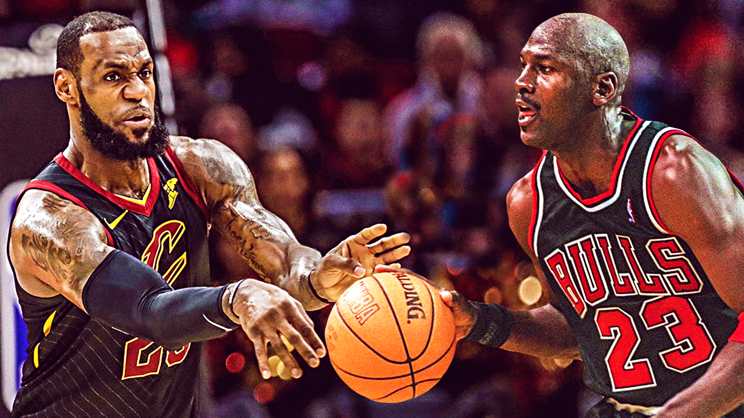 MICHAEL JORDAN WON RINGS WITH ONE TEAM, LEBRON JAMES DIDN'T & HE WON'T MATCH MJ'S LEGACY SAYS A FORMER NBA PLAYER