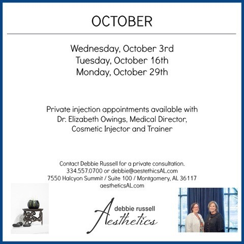 October Injections Events