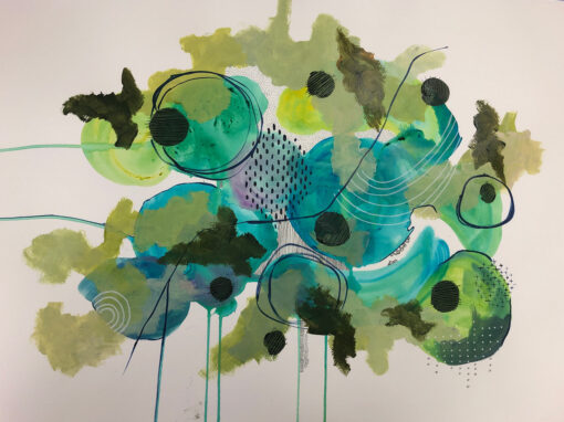 Blue Into Green – $450