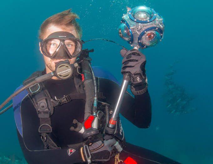 Capturing the Ocean in 360˚