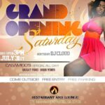 Grand Opening Of The Fire Restaurant And Lounge. The New AFN Bar
