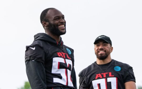 Atlanta Falcons LB Barkevious Mingo Was Arrested On A Charge Of Indecency With A Minor