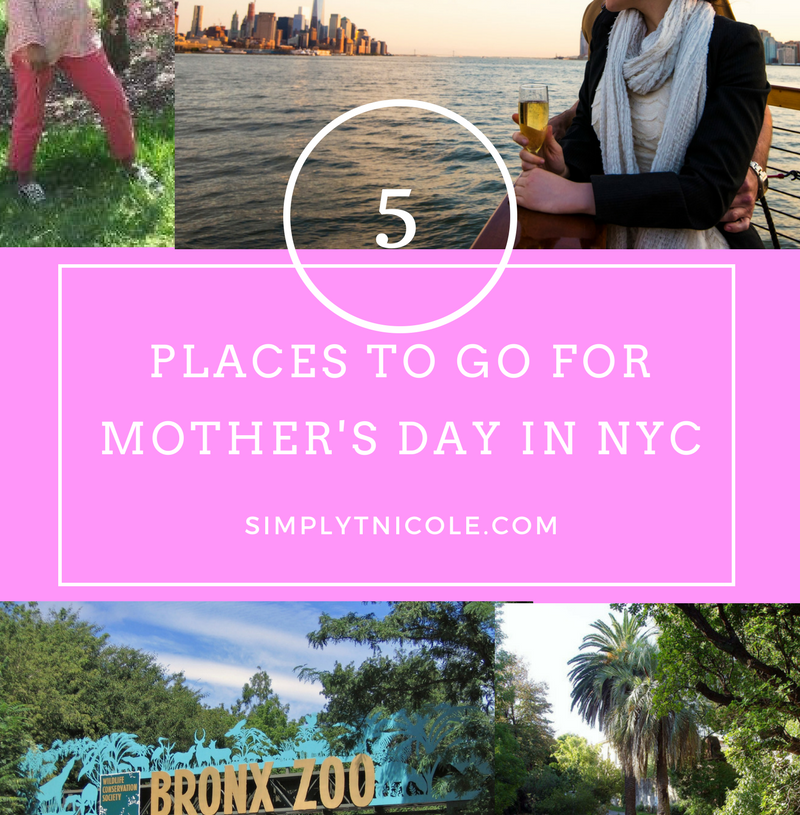 5 places to go for Mother's Day