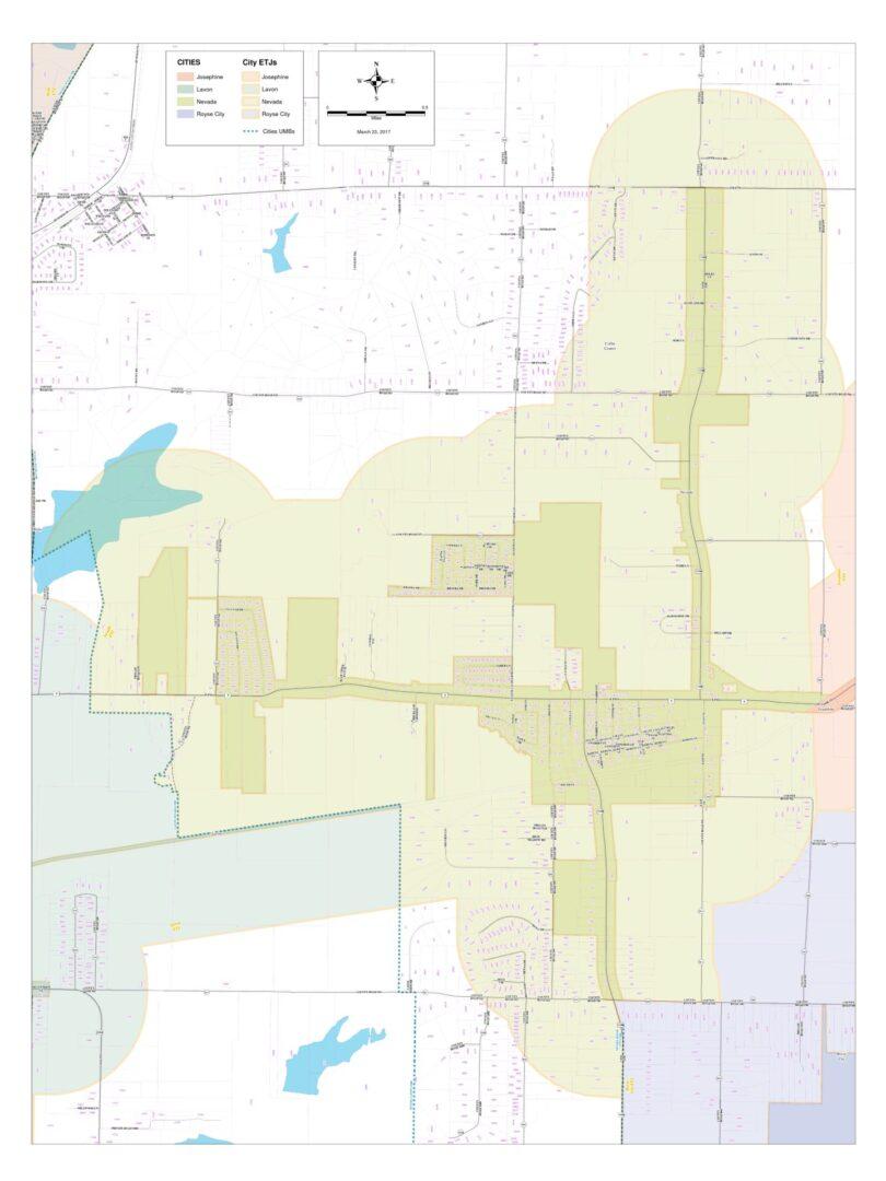 Arch E Map