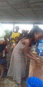 Young people taking responsibility for their own health and that of their village.