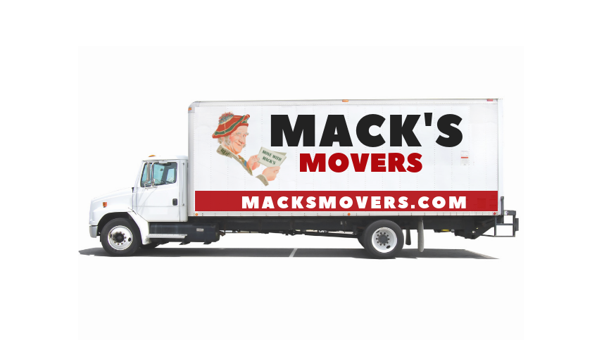 Macks Truck Sign