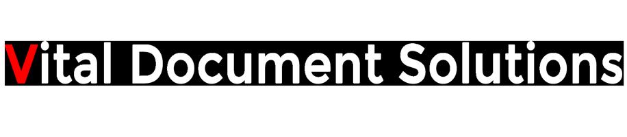 Vital Document Solutions logo