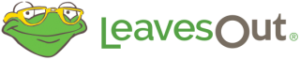 Leaves out logo