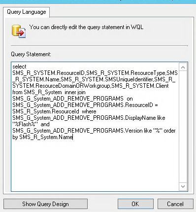 Create SCCM collection based on software installed