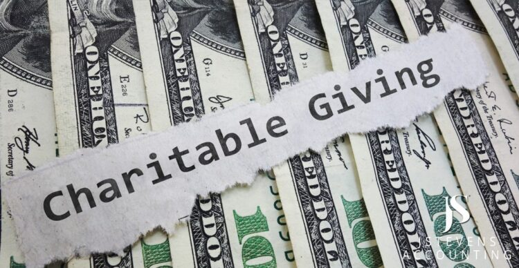 New Rules for Charitable Giving