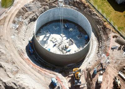 Construction Of A Reservoir