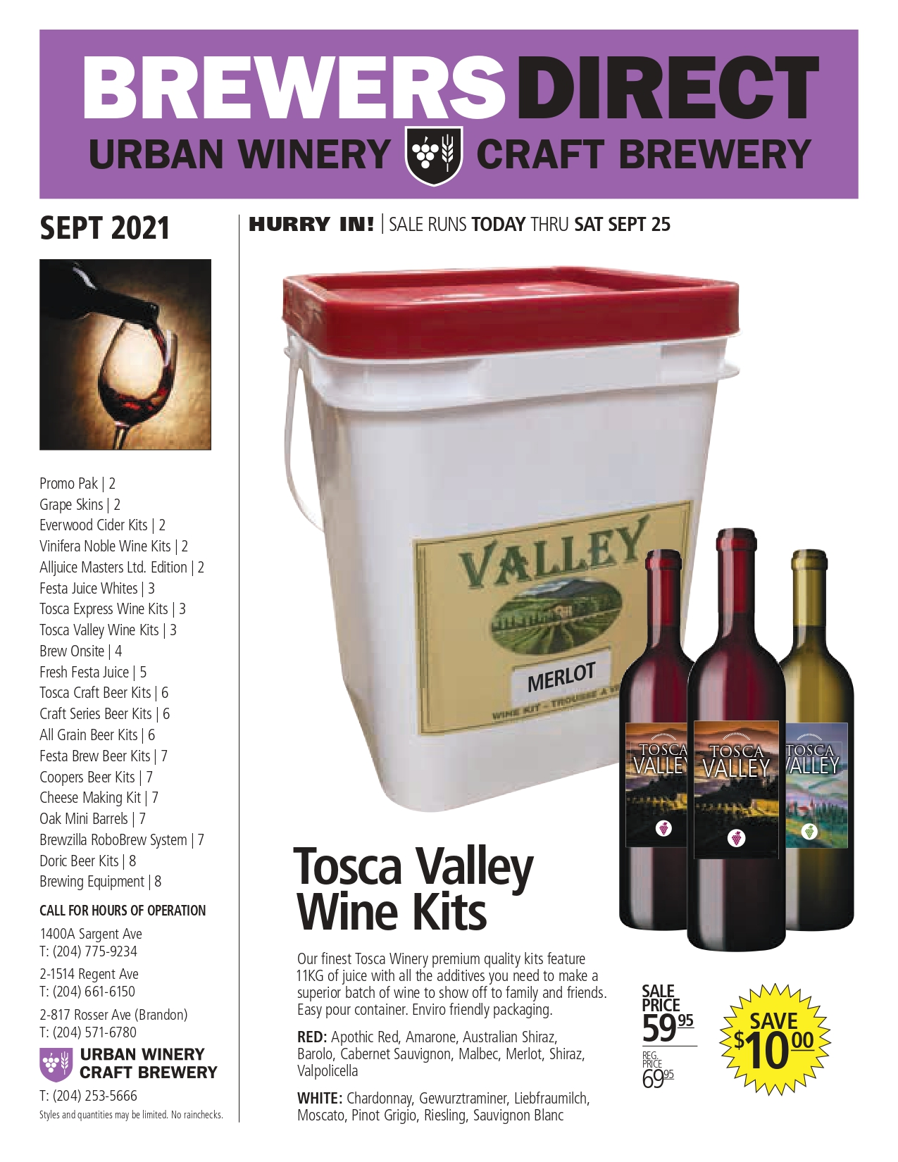 Sep 2021 Newsletter Brewers Direct