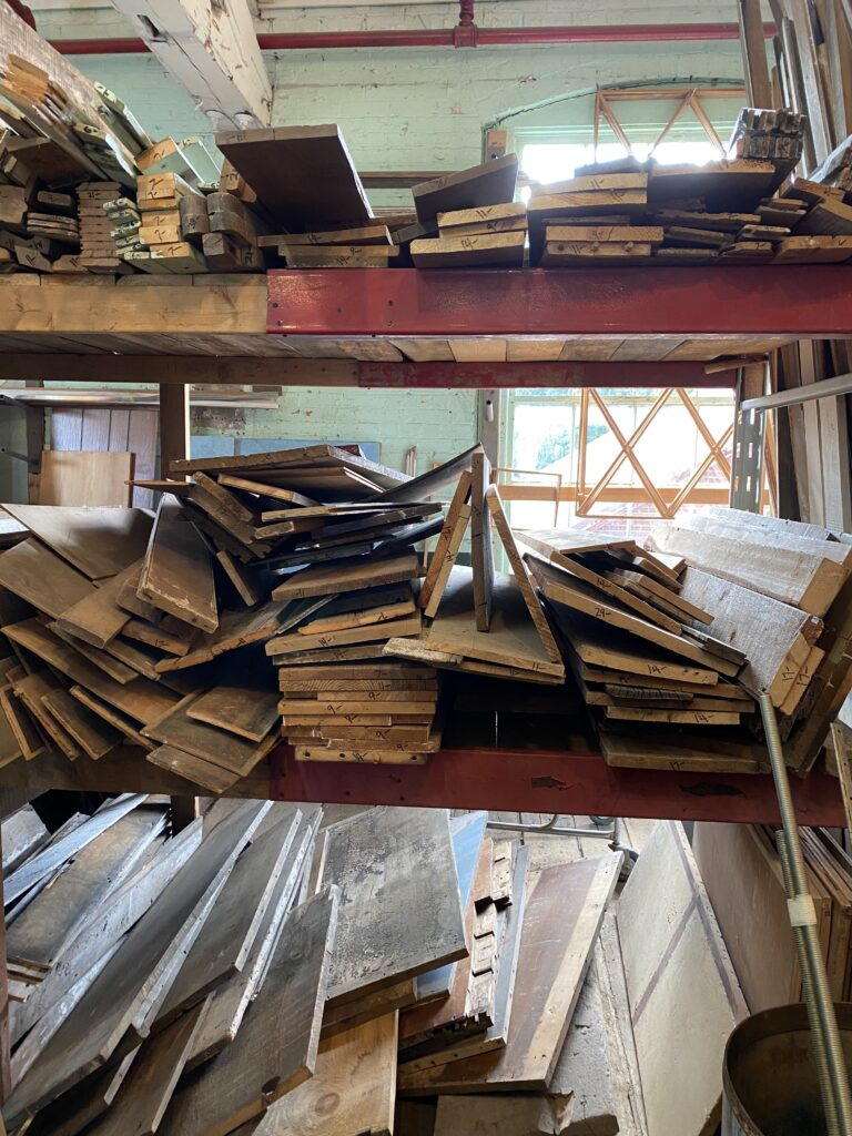 Stacks of Vintage Wood