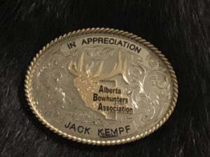 Presented to Jack Kempf in appreciation of his many years of support for the ABA!