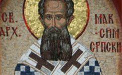 Saint Maximos of Serbia