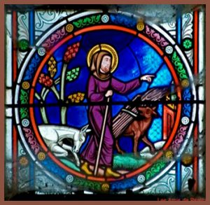 Stained Glass Art of St Psalmodus