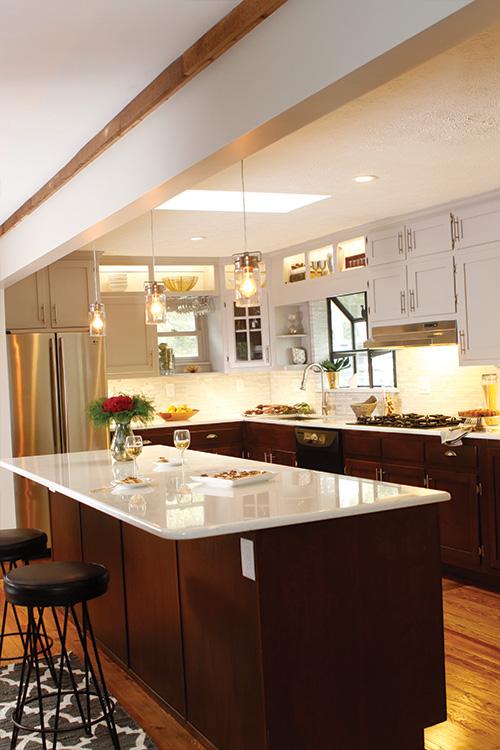 Beautiful kitchen renovation.