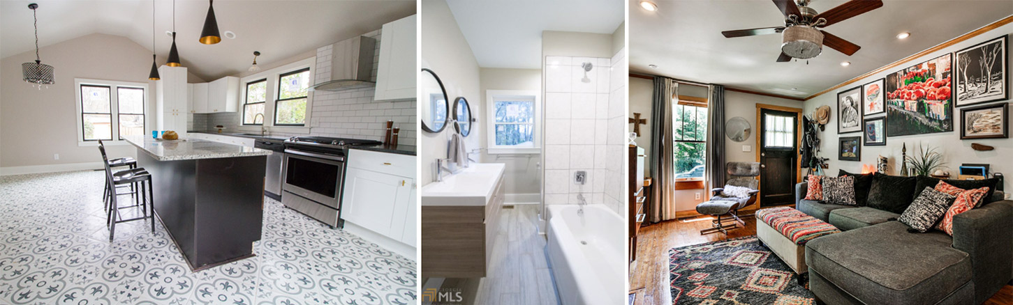 Remodeling examples