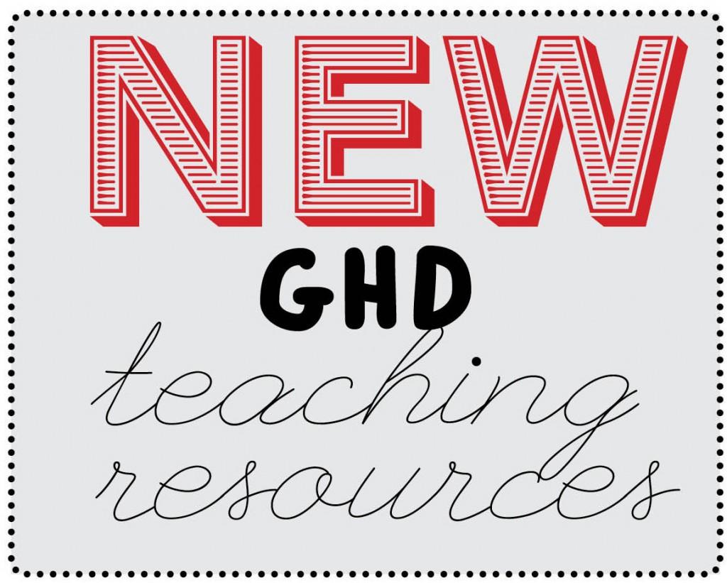 new ghd teach resources