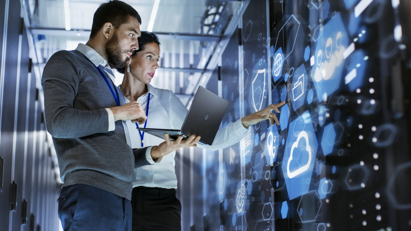Employees provide cloud expertise