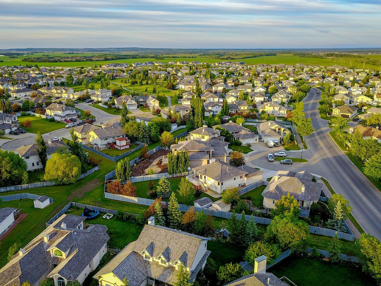 View of a neighbourhood of homes