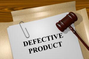 Defective Product concept