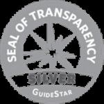 Guidestar silver seal.