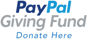 Paypal Giving Fund logo.