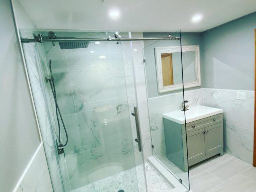 Pennsylvania Basement and Bathroom Renovation