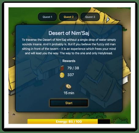Quest Rewards