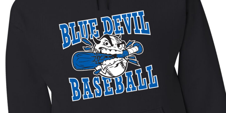 Blue Devils Baseball Custom Apparel