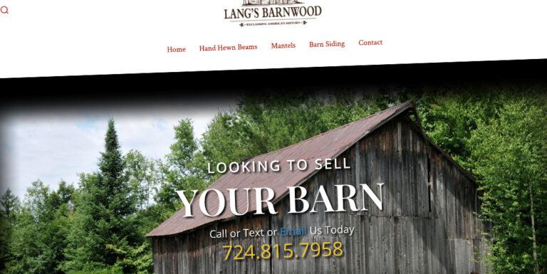 Langs Barnwood Website