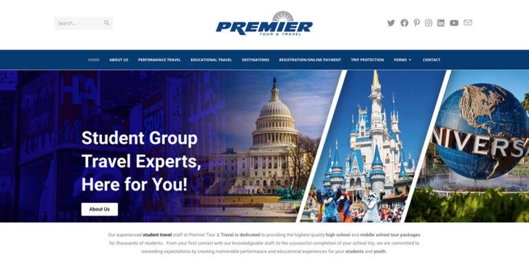 Premier Tour and Travel Website