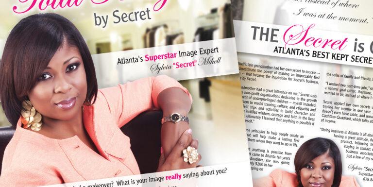 Atlanta People Magazine Design