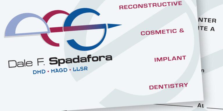 Dr. Spadafora Business Card Design