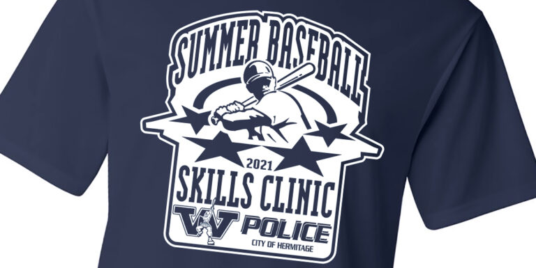Baseball Clinic Custom Shirt