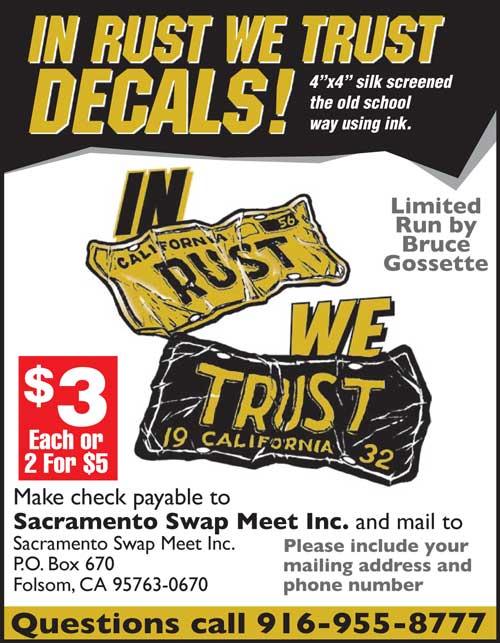 Sacramento Swap Meet Decal