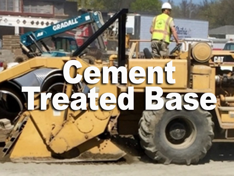 cement treated