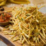 Garlic & Pepper Fries