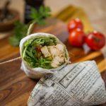 Chicken Pesto Wrap