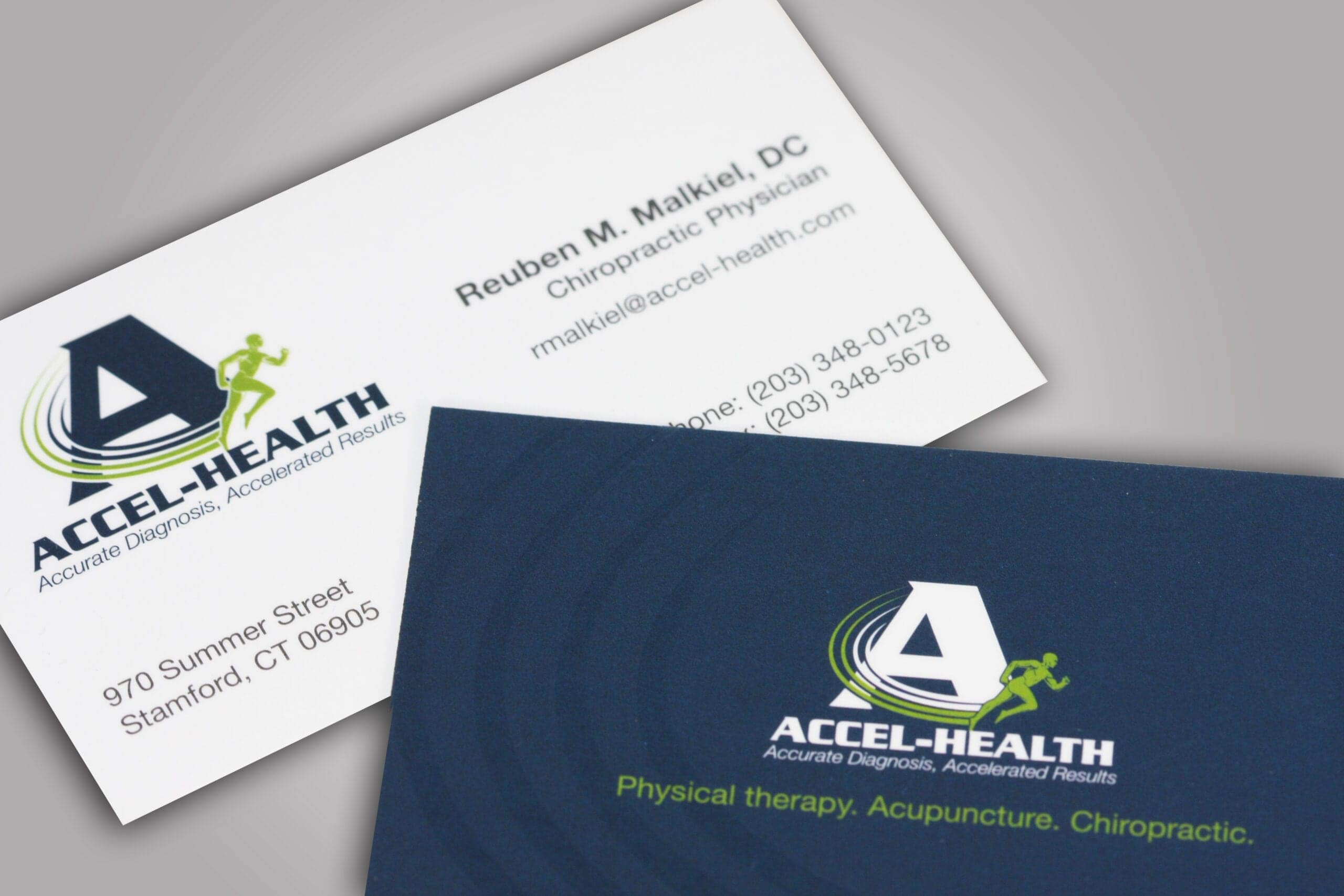 Custom printed two sided business cards can enhance your brand and any message you want to convey to potential clients. We can help you leave an imprint on your clients, by creating the perfect custom business card for you and your business.