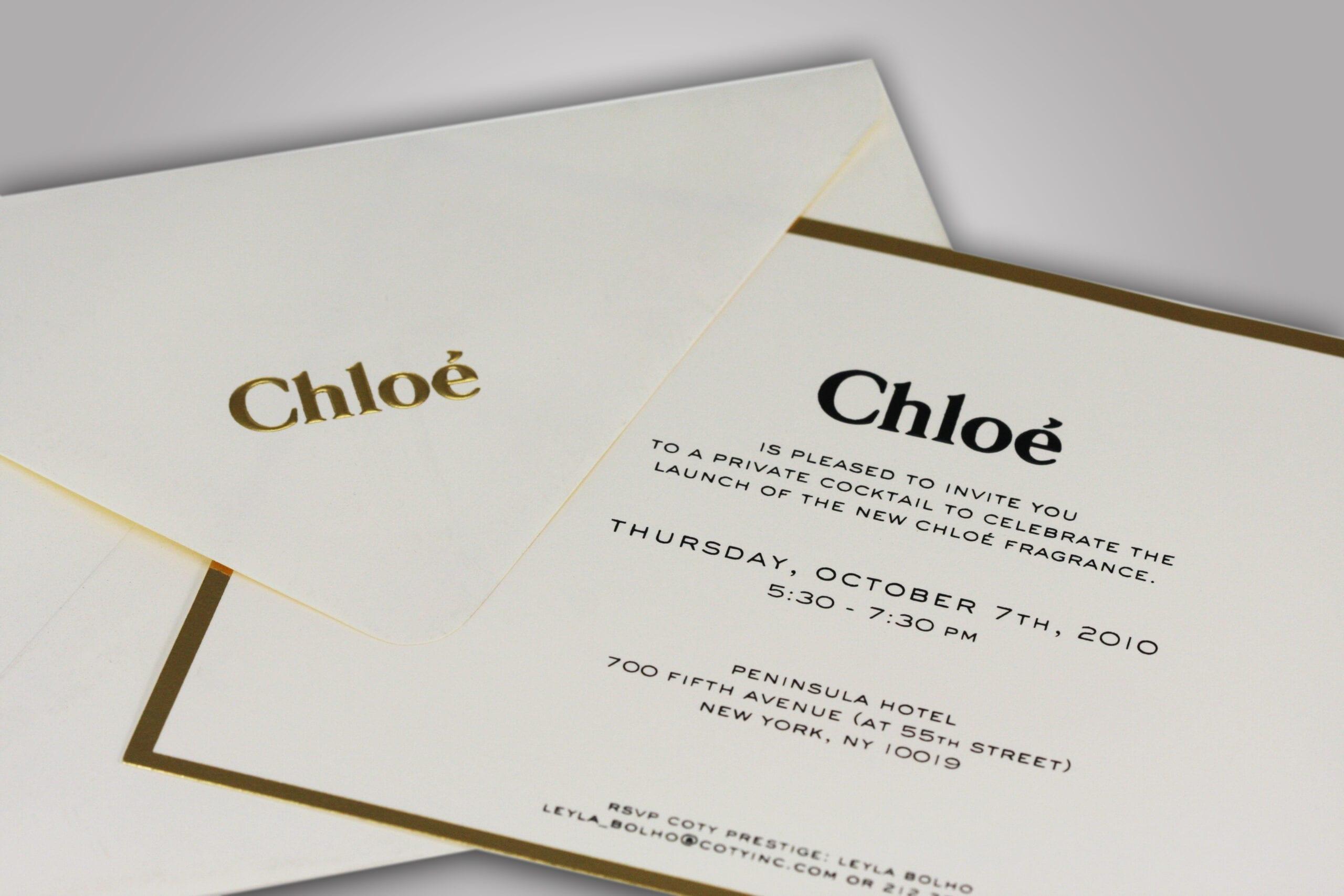 Chloe Invitation